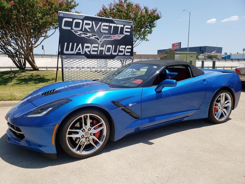 2014 Chevrolet Corvette Stingray Convertible Z51, 3LT, NAV, NPP, Chromes 14k! | Dallas, Texas | Corvette Warehouse