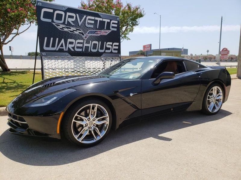 2014 Chevrolet Corvette Stingray Coupe Z51, 3LT, NAV, FE4, NPP, Chromes 58k! | Dallas, Texas | Corvette Warehouse