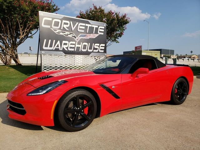 2014 Chevrolet Corvette Stingray Convertible 3LT, NAV, Black Alloys, Only 12k! | Dallas, Texas | Corvette Warehouse  in Dallas Texas