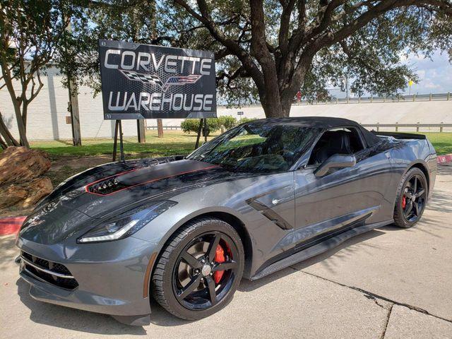 2014 Chevrolet Corvette Stingray Convertible 7 Speed, CD Player, Black Alloys 97k | Dallas, Texas | Corvette Warehouse  in Dallas Texas