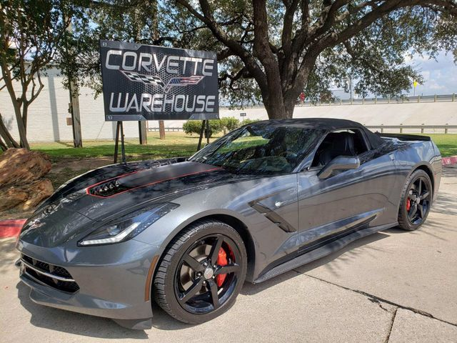 2014 Chevrolet Corvette Stingray Convertible 7 Speed, CD Player, Black Alloys 97k | Dallas, Texas | Corvette Warehouse  in Dallas Texas