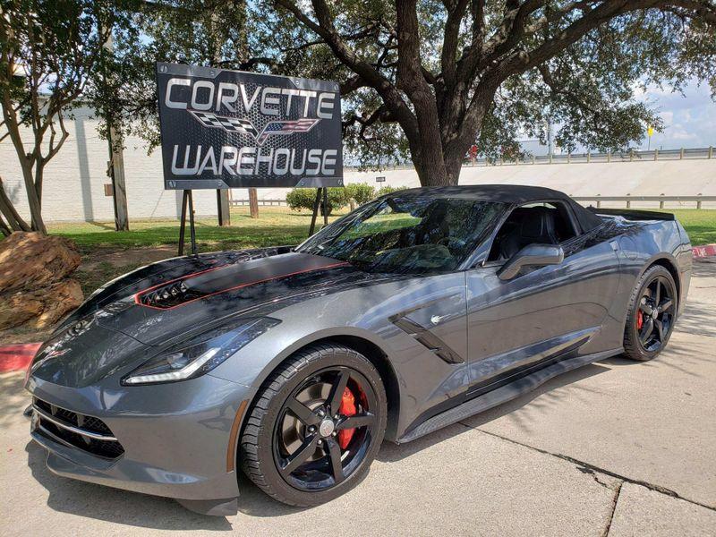 2014 Chevrolet Corvette Stingray Convertible 7 Speed, CD Player, Black Alloys 97k | Dallas, Texas | Corvette Warehouse