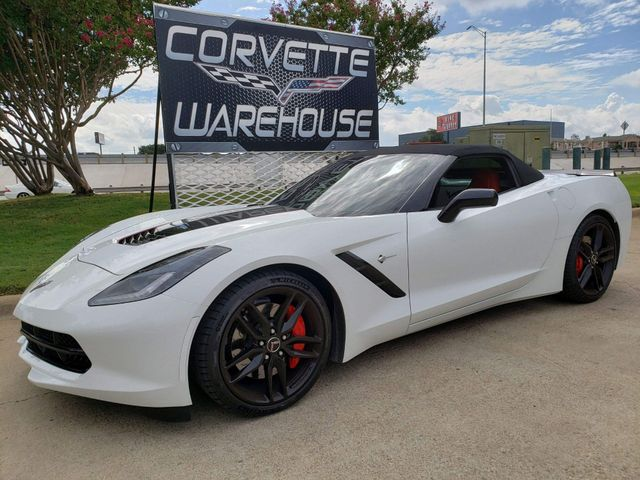 2014 Chevrolet Corvette Stingray Convertible Z51, 3LT, NAV, NPP, 7 Speed, 12k! | Dallas, Texas | Corvette Warehouse  in Dallas Texas