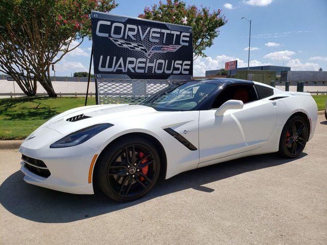 2014 Chevrolet Corvette Stingray Coupe Z51, 2LT, FE4, NPP, NAV, Auto, Black Wheels! | Dallas, Texas | Corvette Warehouse  in Dallas Texas