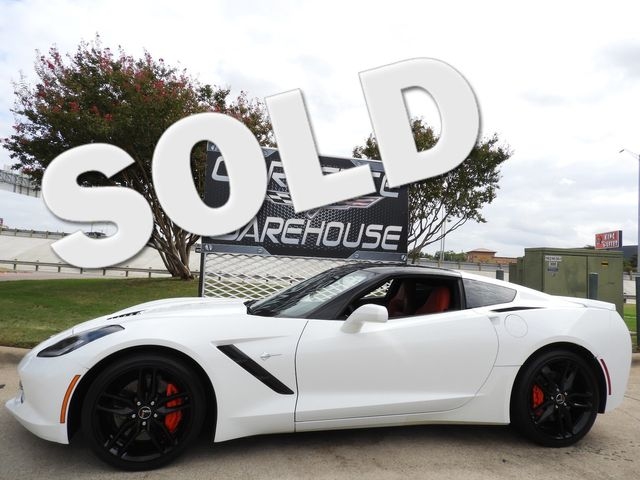 2014 Chevrolet Corvette Stingray Coupe Z51, 2LT, FE4, NPP, NAV, Auto, Black Wheels! | Dallas, Texas | Corvette Warehouse  in Dallas Texas