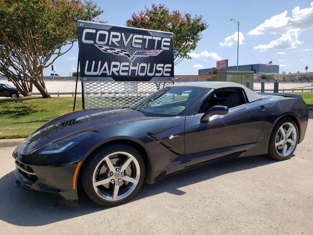 2014 Chevrolet Corvette Stingray Convertible 2LT, Auto, NAV, NPP, Chrome Wheels 67k | Dallas, Texas | Corvette Warehouse  in Dallas Texas