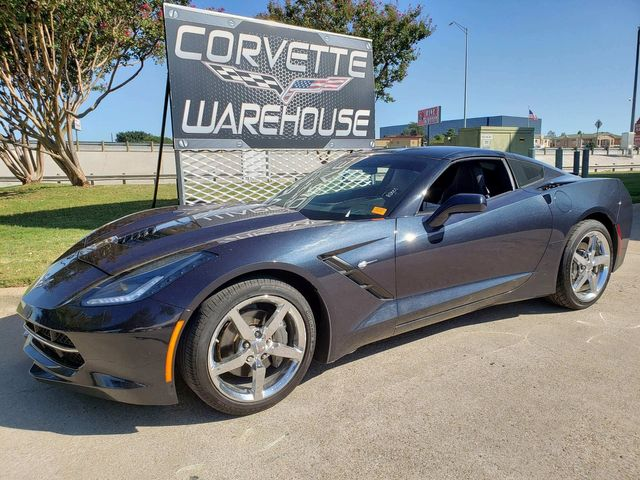 2014 Chevrolet Corvette Stingray Coupe 2LT, Auto, NAV, CD, Chrome Wheels 94k Miles | Dallas, Texas | Corvette Warehouse  in Dallas Texas