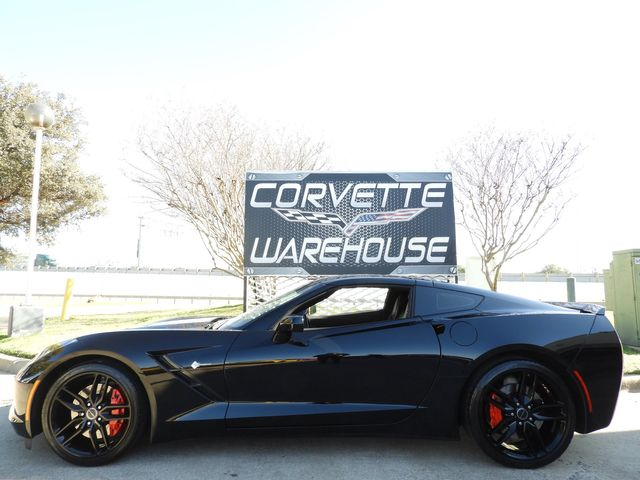 2014 Chevrolet Corvette Stingray Coupe Z51, 2LT, FE4, NAV, Auto, Black Alloys 13k!  | Dallas, Texas | Corvette Warehouse  in Dallas Texas