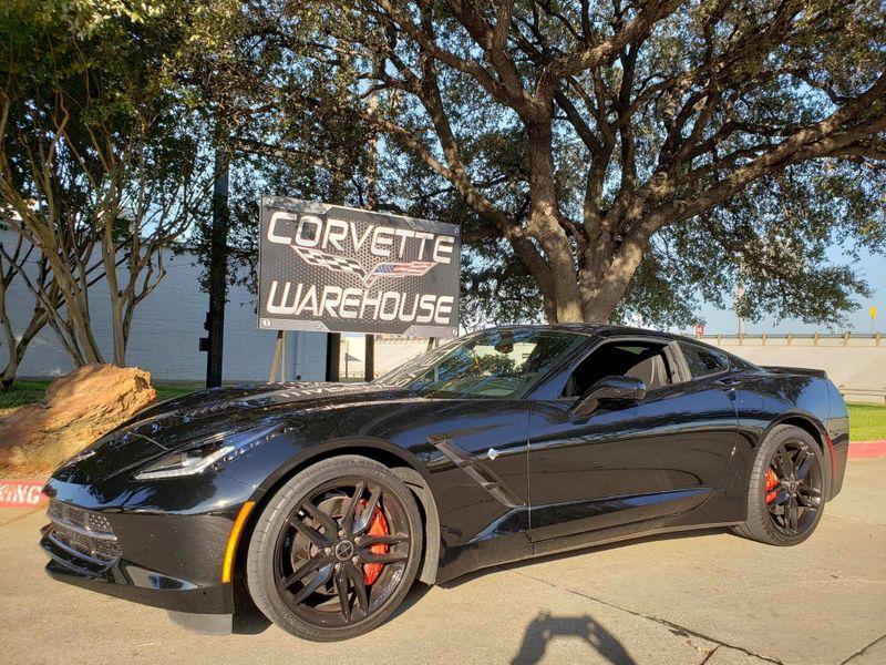 2014 Chevrolet Corvette Stingray Coupe Z51, 2LT, FE4, NAV, Auto, Black Alloys 13k!  | Dallas, Texas | Corvette Warehouse