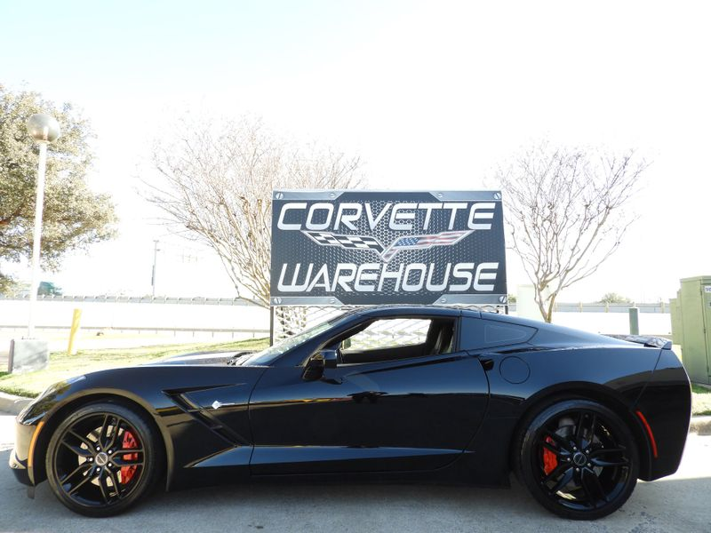 2014 Chevrolet Corvette Stingray Coupe Z51, 2LT, FE4, NAV, Auto, Black Alloys 13k!  | Dallas, Texas | Corvette Warehouse