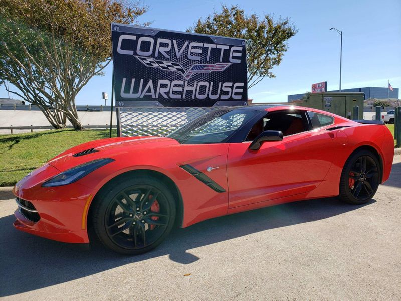 2014 Chevrolet Corvette Stingray Coupe Z51, 2LT, Carbon Top, 7 Speed, NPP, 38k!   Dallas, Texas   Corvette Warehouse