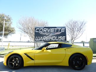 2014 Chevrolet Corvette Stingray Coupe 3LT, NAV, 7 Speed, Black Wheels, NICE! | Dallas, Texas | Corvette Warehouse  in Dallas Texas