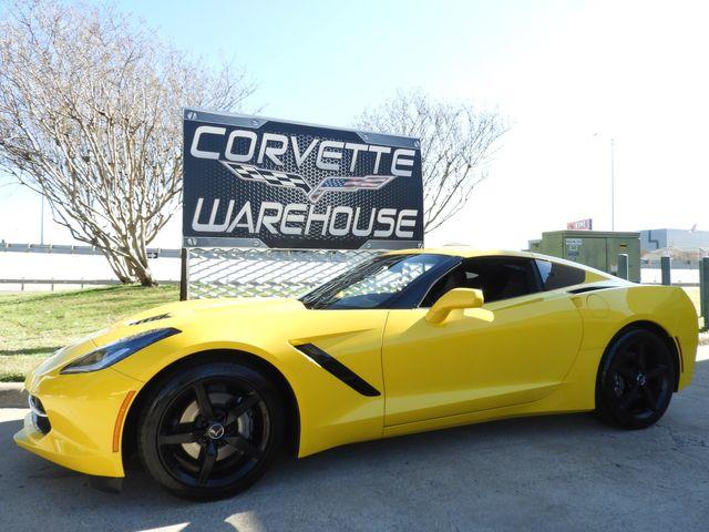 2014 Chevrolet Corvette Stingray Coupe 3LT, NAV, 7 Speed, Black Wheels, NICE