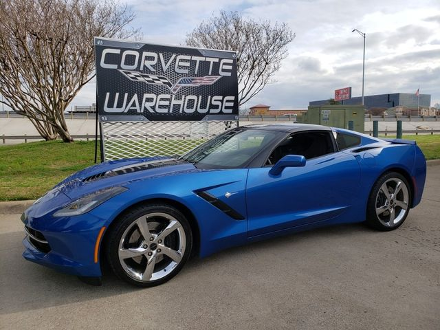 2014 Chevrolet Corvette Stingray Coupe Z51, 3LT, FE4, NAV, 7 Speed, Chromes 25k! | Dallas, Texas | Corvette Warehouse  in Dallas Texas