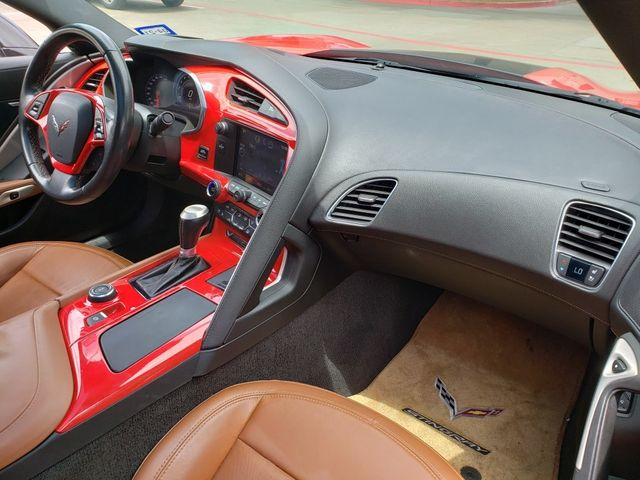 2014 Chevrolet Corvette Stingray Coupe 2LT, ZF1, NAV, Auto, Skirts, Glass Top, 65k in Dallas, Texas 75220