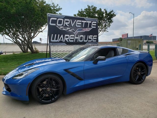 2014 Chevrolet Corvette Stingray Coupe Z51, 2LT, FE4, NAV, Black Alloys 13k in Dallas, Texas 75220