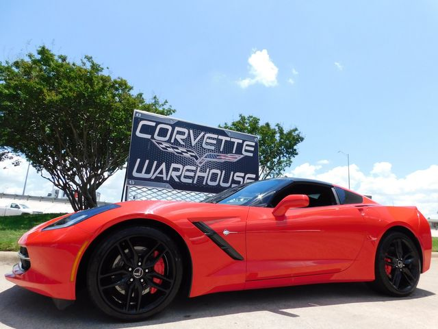 2014 Chevrolet Corvette Stingray Coupe Z51, 3LT, NAV, FE4, NPP, Carbon Top 23k in Dallas, Texas 75220