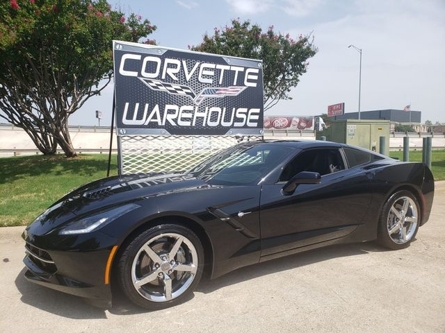 2014 Chevrolet Corvette Stingray Coupe 7 Speed, Corsa, Chrome Wheels, Only 44k
