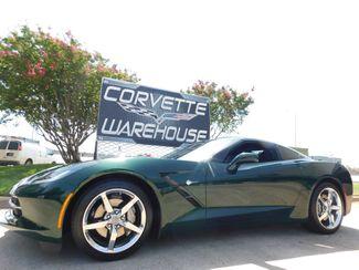 2014 Chevrolet Corvette Stingray Coupe 2LT, NAV, NPP, Auto, Chrome Wheels, Only 3k in Dallas, Texas 75220