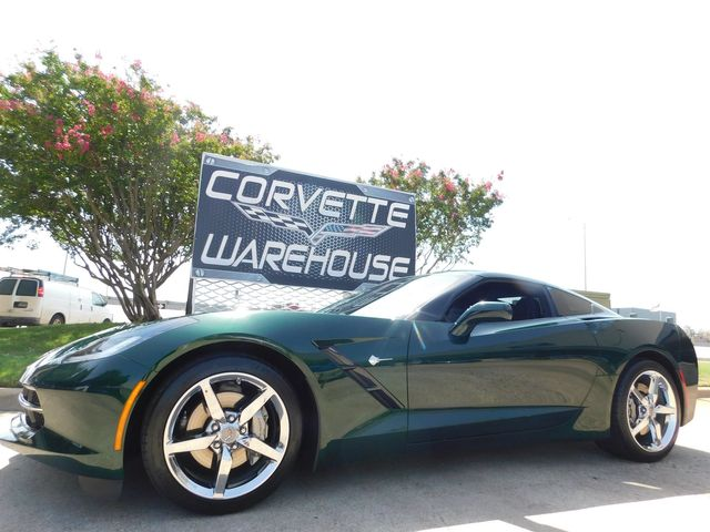 2014 Chevrolet Corvette Stingray Coupe 2LT, NAV, NPP, Auto, Chrome Wheels, Only 3k