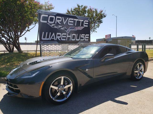 2014 Chevrolet Corvette Stingray Coupe 3LT, NAV, NPP, IWE, Auto, Chrome Wheels 47k