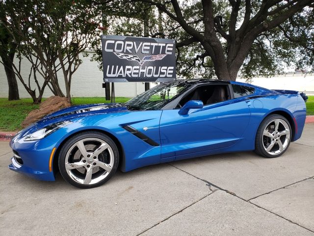2014 Chevrolet Corvette Stingray Coupe Z51, 3LT, Premiere Edt, FE4, NAV, NPP, 36k in Dallas, Texas 75220