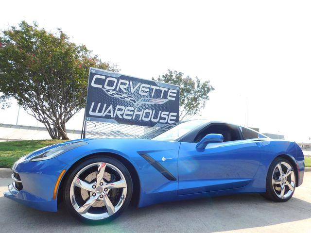 2014 Chevrolet Corvette Stingray Coupe Z51, 3LT, Premiere Edt, FE4, NAV, NPP, 36k
