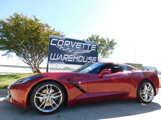 2014 Chevrolet Corvette Stingray Coupe Z51, 3LT, FE4, NAV, NPP, Chromes 27k in Dallas, Texas 75220