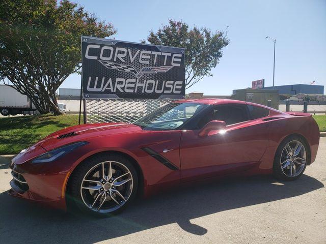 2014 Chevrolet Corvette Stingray Coupe Z51, 3LT, FE4, NAV, NPP, Chromes 27k