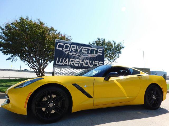2014 Chevrolet Corvette Stingray Coupe Z51, 3LT, FE4, NAV, NPP, Only 18k
