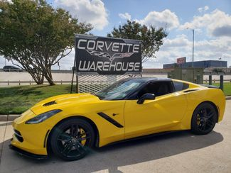 2014 Chevrolet Corvette Stingray Coupe Z51, 3LT, NAV, NPP, Black Alloys 81k in Dallas, Texas 75220