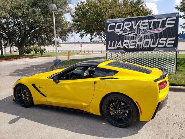 2014 Chevrolet Corvette Stingray Coupe Z51, 3LT, NAV, NPP, Black Alloys 81k in Dallas, Texas 75220