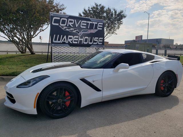 2014 Chevrolet Corvette Stingray Coupe Z51, 3LT, NAV, NPP, Auto, Blk Wheels 61k