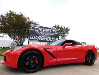2014 Chevrolet Corvette Stingray Coupe Z51, 2LT, Mylink, NPP, Black Wheels 16k in Dallas, Texas 75220