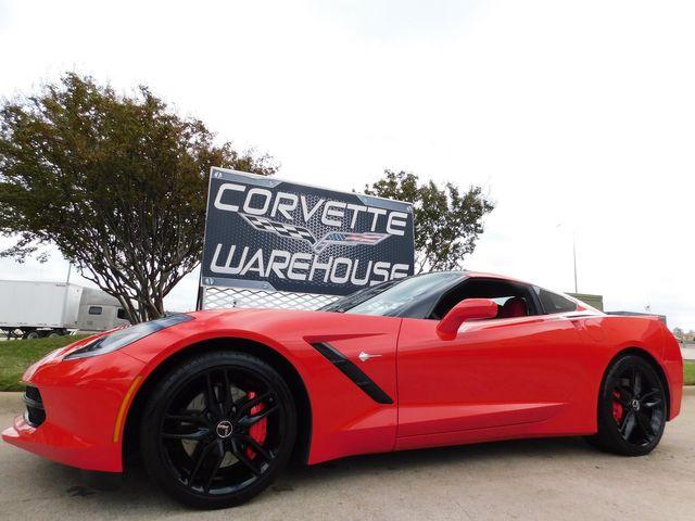 2014 Chevrolet Corvette Stingray Coupe Z51, 2LT, Mylink, NPP, Black Wheels 16k