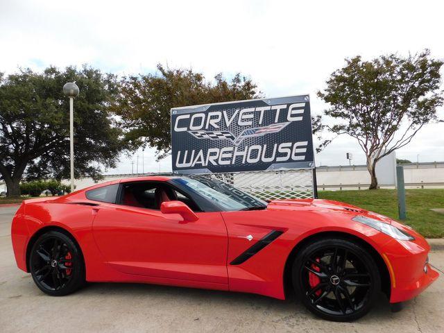 2014 Chevrolet Corvette Stingray Coupe Z51, 2LT, Mylink, NPP, Black Wheels 16k in Dallas, Texas 75220