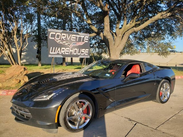 2014 Chevrolet Corvette Stingray Coupe 2LT, NPP, Mylink, Carbon Top, Chromes, NICE