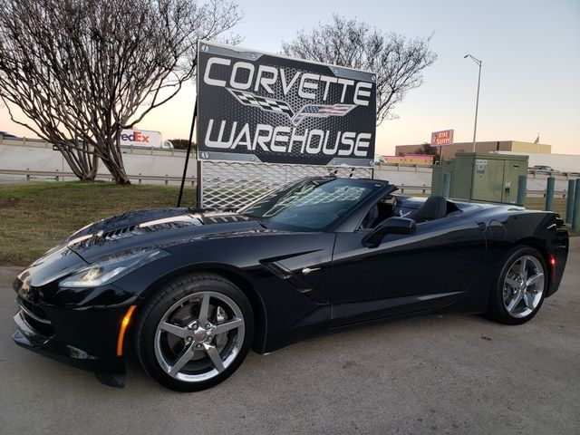 2014 Chevrolet Corvette Stingray Convertible 3LT, NAV, NPP, FAY, Auto, Chromes 71k in Dallas, Texas 75220