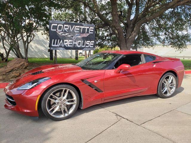 2014 Chevrolet Corvette Stingray Coupe Z51, 3LT, FE4, NAV, NPP, Auto, Chromes 16k in Dallas, Texas 75220