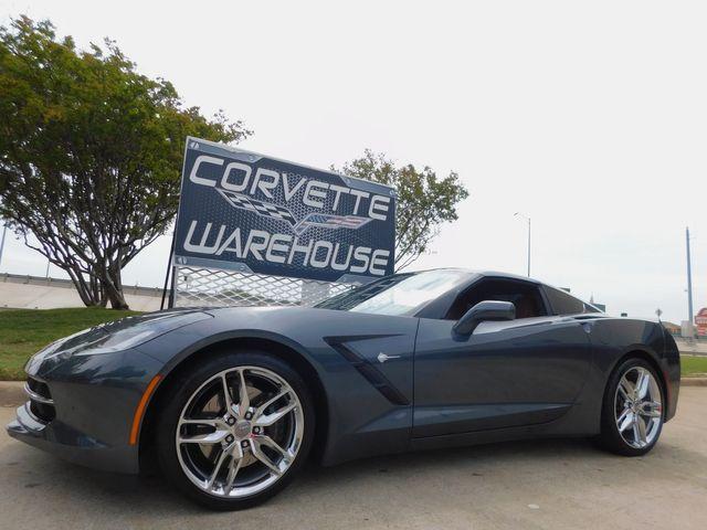 2014 Chevrolet Corvette Stingray Coupe Z51, 2LT, NPP, 7-Speed, Mylink, Chromes 6k