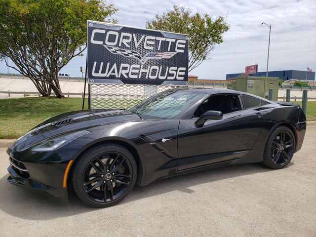2014 Chevrolet Corvette Stingray Coupe Z51, NPP, Mylink, 7-Speed, Black Alloys 82k