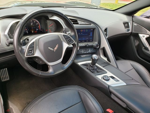 2014 Chevrolet Corvette Stingray Coupe Z51, NPP, Mylink, 7-Speed, Black Alloys 82k in Dallas, Texas 75220