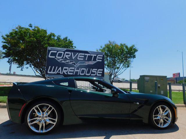 2014 Chevrolet Corvette Stingray Coupe Z51, 3LT, 1/500 Premier Edition, Chromes in Dallas, Texas 75220