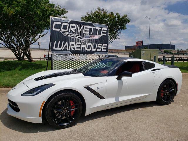 2014 Chevrolet Corvette Stingray Coupe Z51, 3LT, NAV, NPP, 7-Speed, Black Alloys in Dallas, Texas 75220