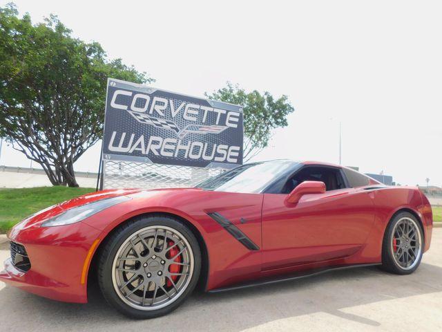 2014 Chevrolet Corvette Stingray Coupe Z51, 3LT, NAV, NPP, PDR, Tasteful Ads