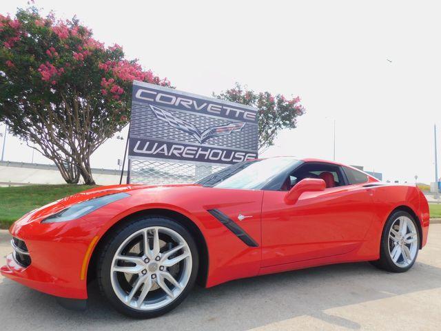 2014 Chevrolet Corvette Stingray Coupe Z51, 2LT, FE4, NAV, NPP, Auto, Alloys 7k