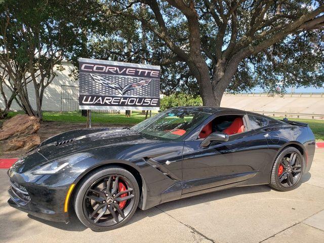 2014 Chevrolet Corvette Stingray Coupe Z51, 3LT, NAV, NPP, Auto, Black Alloys 54k
