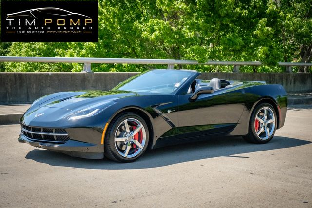 2014 Chevrolet Corvette Stingray 3LT CONVERTIBLE TOP RED CALIPERS