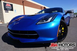 2014 Chevrolet Corvette Stingray Z51 3LT Stingray Coupe Manual Transmission    MESA, AZ   JBA MOTORS in Mesa AZ