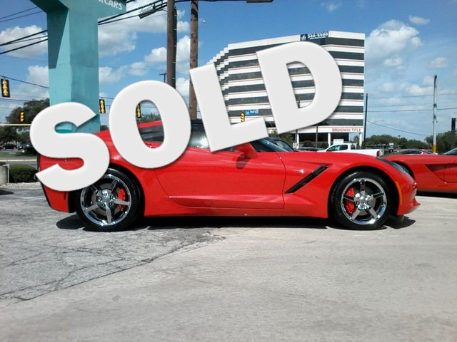 2014 Chevrolet Corvette Stingray 3LT Torch Red San Antonio, Texas